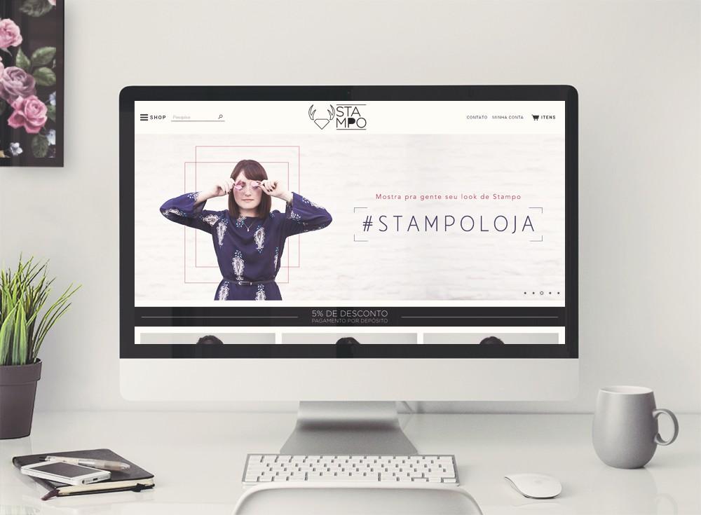 Stampo - modificação template iluria